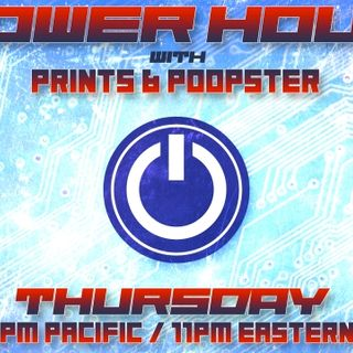 Power Hour with Prints & Poopster Podcast - 2019-10-31 - EP8 - Tricky Times (Halloween Show)