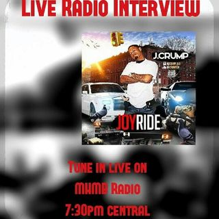 Episode 21 - Live Talk Session with Dj Del.G & Exclusive Radio Interview with J.Crump