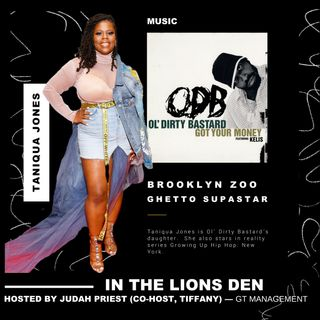 THE LIONS DEN, HOSTED BY JUDAH PRIEST __ VIP:  TANIQUA JONES