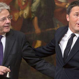 Le strade di Renzi e Gentiloni