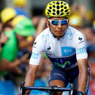 Quintana, tras la 18ª etapa del Tour