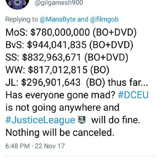 Justice League highest Grossing Dc film In China! 567mill worldwide! mCU Sucks So Does Nolan! Could We See Fate& furios Scenario?