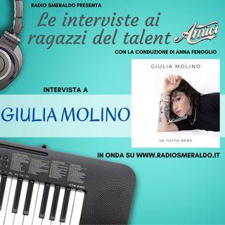 Giulia Molino   Le Interviste ai ragazzi di Amici