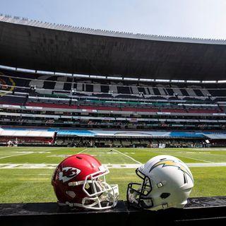 A las 14:30 inician salidas para juego de NFL en Estadio Azteca