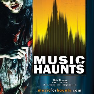 Music For Haunts- Custom Soundtrack Design For Your Attraction