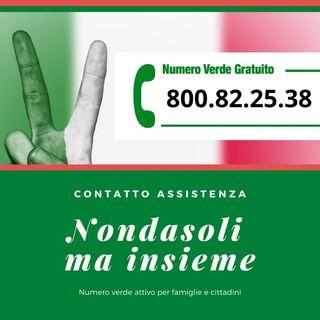 Covid-19, numero verde per supporto gratuito