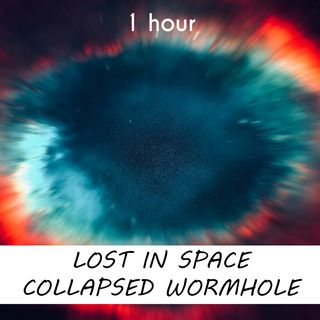 Lost in Space Collapsed Wormhole | 1 hour CELESTIAL Sound Podcast | White Noise | ASMR sounds for deep Sleep | Relax | Meditation | Colicky