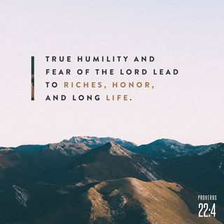 Episode 262: Proverbs 22:4 (November 2, 2018)