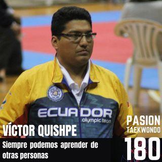 Víctor Hugo Quishpe - Siempre podemos aprender de otras personas