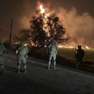 Perfecta actuación de las Fuerzas Armadas ante explosión