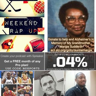 "Weekend Rap Up Ep. 122 - ""Can't Believe This #FinalFour"""