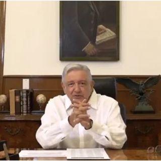 Celebra López Obrador la próxima entrada del T-MEC