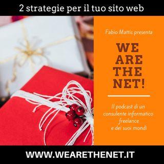 23 - 2 strategie per il tuo sito web