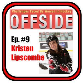 Offside #9 - Kristen Lipscombe