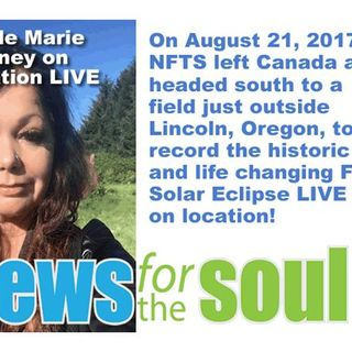 LIVE NFTS Coverage of the Total 2017 Solar Eclipse ON LOCATION -