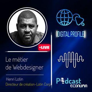 Le métier de webdesigner avec Henri Lotin
