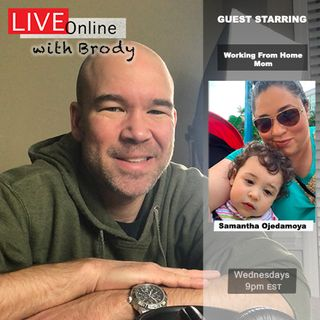 Adjusting To Work From Home Mom Life - LIVE Online With Brody