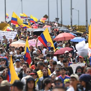 Paro General en Colombia
