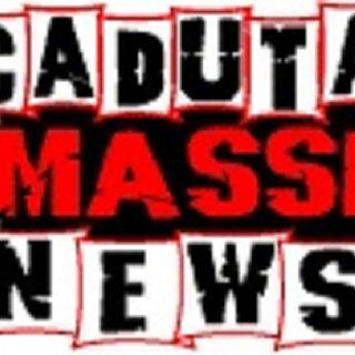 CADUTA MASSI news live - in diretta dalle ore 22.00