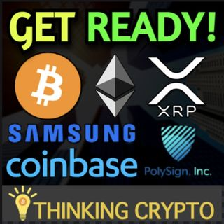 Coinbase Ethereum Staking Live! - Samsung Crypto Ledger - DBS Bank BTC, ETH, XRP & Polysign Cowen