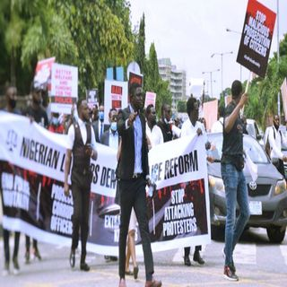Lawyers join #EndSARS protest in Lagos