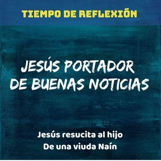 Jesús y la viuda de Naín.