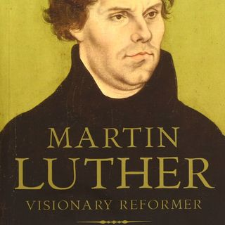 Martin Luther came and talked how much error he had