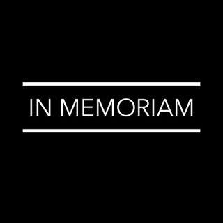 Especial In Memoriam