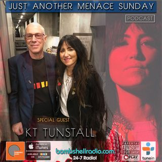 Just Another Menace Sunday #765 w/ KT TUNSTALL AND HER MUSICAL SANDWICH!
