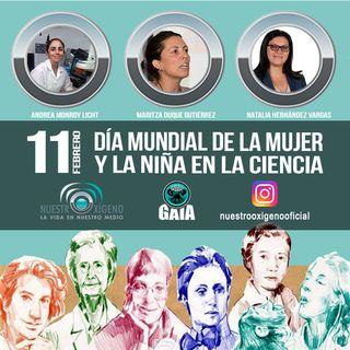 NUESTRO OXÍGENO 11 de febrero Día internacional de la mujer y la niña en la ciencia