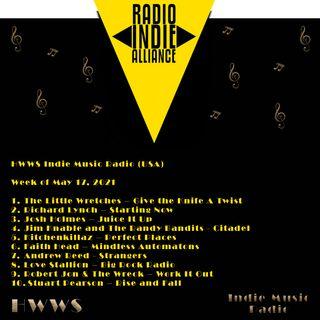 HWWS Indie Music Radio Top Ten Spotlight 05172021