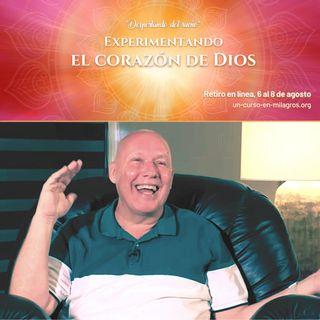 Retiro en línea «Experimentando el Corazón de Dios»: Taller de película «Déjà vu» con David Hoffmeister
