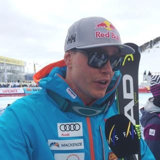 St. Moritz WCH, superG: quotes by Guay, Jansrud and Osborne-Paradis (Interviews by Giulio Gasparin for EBU)