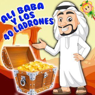 55. Ali baba y los cuarenta ladrones. Tradicional cuento narrado por Hada de Fresa para enseñar a los niños a evitar la avaricia