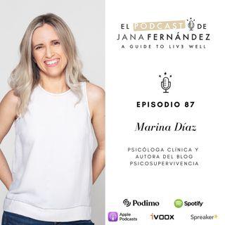 Cómo vencer a los enemigos psicológicos del descanso a base de disciplina, organización y rutinas, con Marina Díaz
