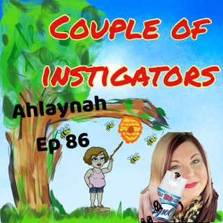 Ep 86 Ahlaynah Comedian joins Cindy and Jen, the seven feet away show.