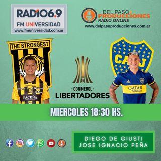 Boca tuvo una actuación sólida y venció a The Strongest en la altura de La Paz