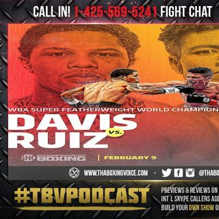 "🚨Gervonta ""Tank"" Davis vs Hugo Ruiz😱Live Fight Chat 💭💯🥊🔥"