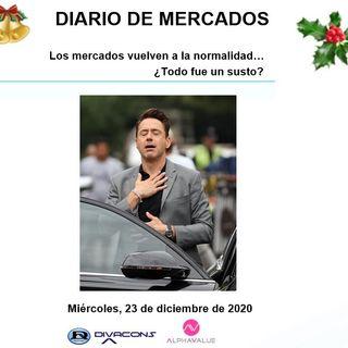DIARIO DE MERCADOS Miércoles 23 Dic