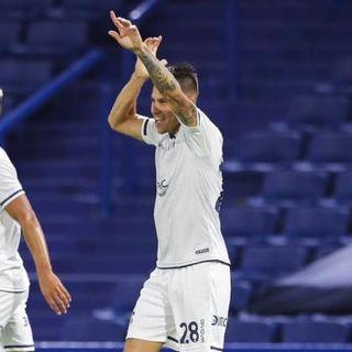 Gol de Talleres: Carlos Auzqui 0-1