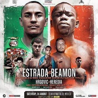 Preview Of The DaznUSA Card Headlined By Juan Estrada-De Wayne Beamon For The WBC+Lineal Superflyweight Title's Live On Sky Sports And Dazn