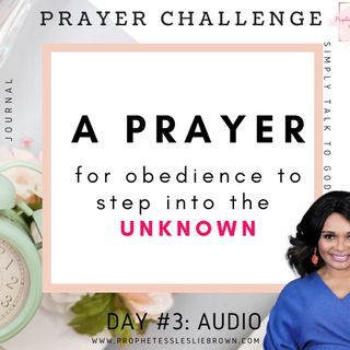 Day #3: A Prayer for Obedience