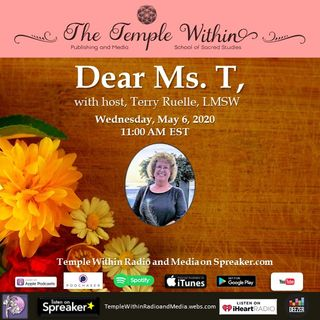 Dear Ms. T  - The Blessings of Uncertainty