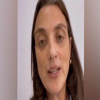 Karen Abudinen pide perdón a los jóvenes