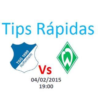 Alemanha - Hoffenheim vs Werder Bremen