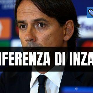 Inter-Sheriff, rivivi la conferenza stampa di Inzaghi in un minuto