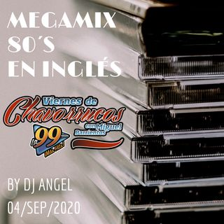 Megamix 80s en Inglés by Dj Angel