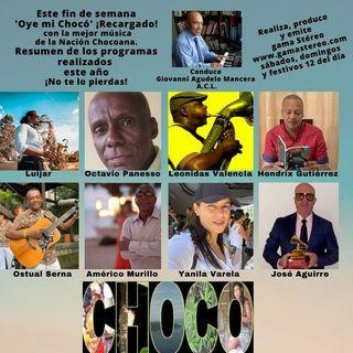 'Oye mi Chocó' Resumen 1er trimestre 2021