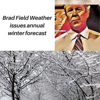 Brad Field Weather issues winter season forecast