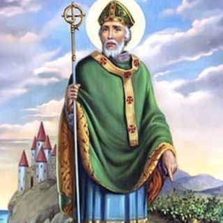 San Patricio, obispo, patrono de Irlanda
